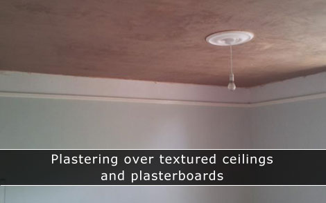 Plastering over artex in Southampton, Winchester, Eastleigh, Hedge End, Lyndhurst and local areas